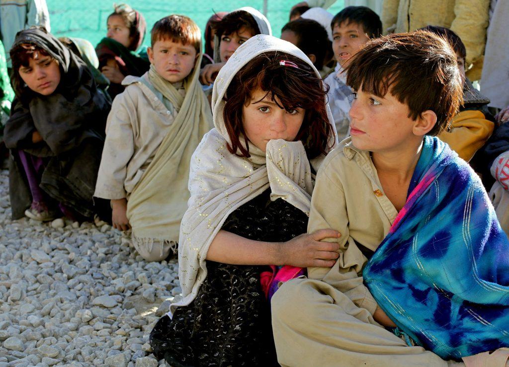 vluchteling kinderen