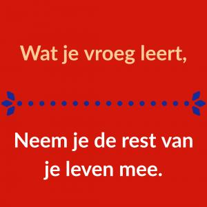 content creatie Stichting Vreedzaam