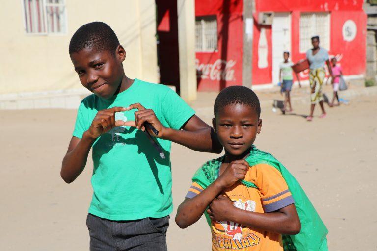 kinderen afrika hart